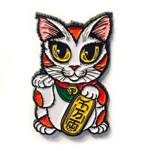 Enamel Pin - Maneki Neko Luck Cat