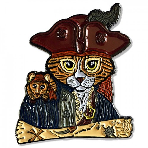 Enamel Pin - Captain Leo