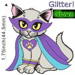 Enamel Pin - PREORDER - SupurrKitty Purple