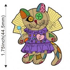 Enamel Pin - Voodoo Empress Fairy Cat Doll -PREORDER