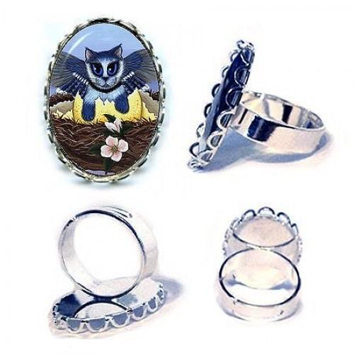 Ring - Blue Jay Kittens