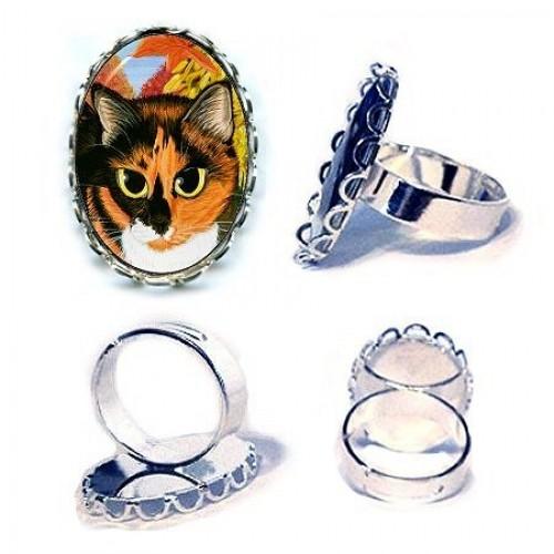 Ring - Calico's Mystical Pumpkin
