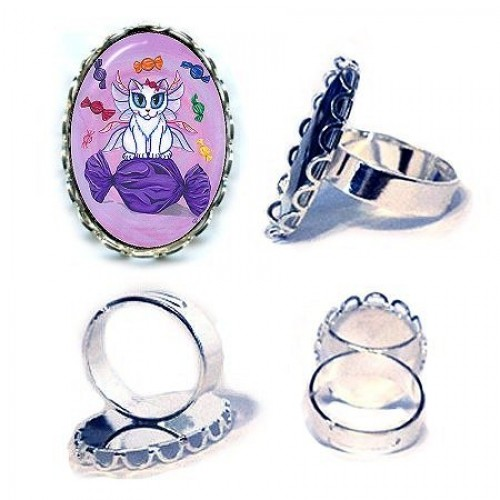 Ring - Candy Fairy Cat, Hard Candy