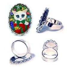 Ring - Christmas Kitten Boy