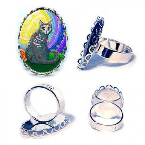 Ring - Day of the Dead Cat Moon