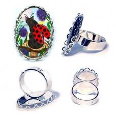 Ring - Logan Ladybug Cat