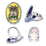 Ring - Lil Mardi Gras Cat