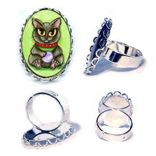 Ring - Maneki Neko Health Cat
