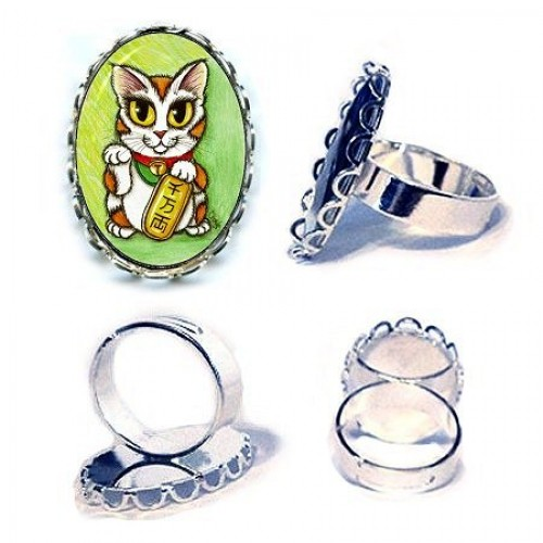 Ring - Maneki Neko Luck Cat