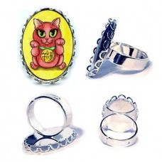 Ring - Maneki Neko Protection Cat