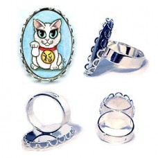 Ring - Maneki Neko Purity Cat
