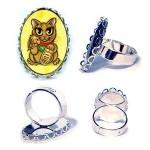 Ring - Maneki Neko Wealth Cat