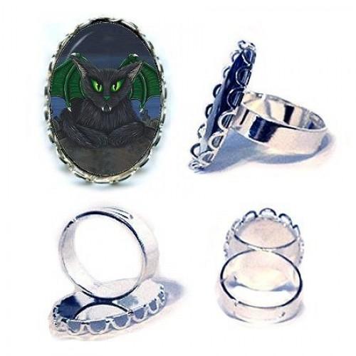 Ring - Bela Vampire Cat
