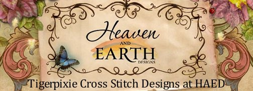 tigerpixie cat art cross stitch patterns at heaven and earth designs
